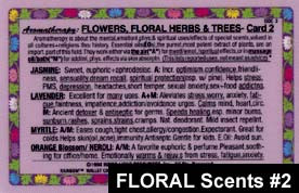 Flowers and Floral Scents Card #2