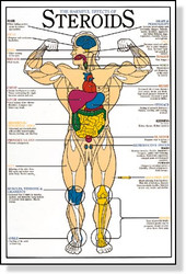 Harmful Effects of Steroids Poster