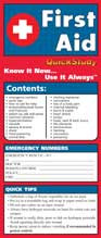 First Aid - Pocket Reference
