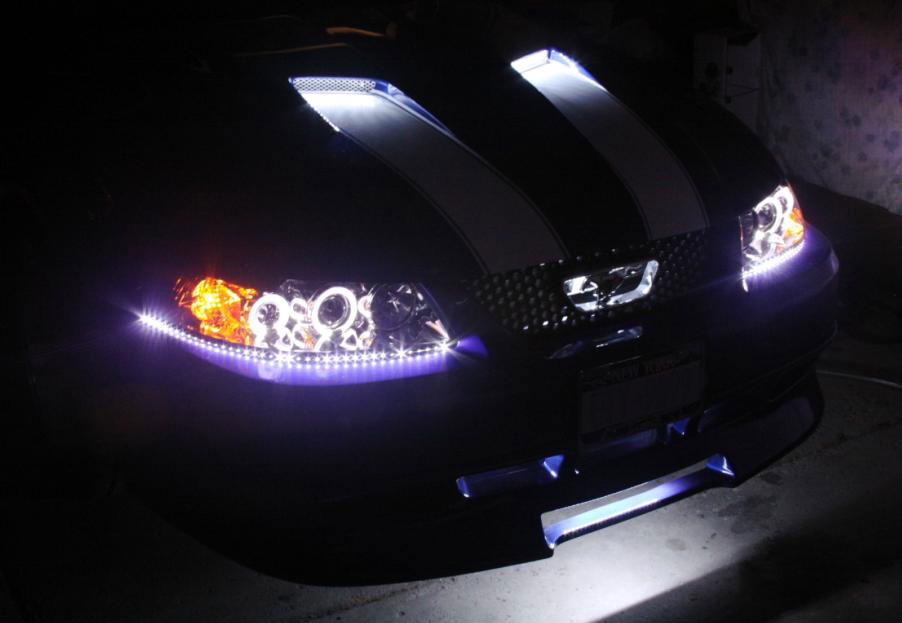 Accent Vehicle Lighting Led And Hid Custom Radio
