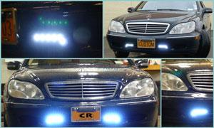 2002 Mercedes - Custom LED Lighting