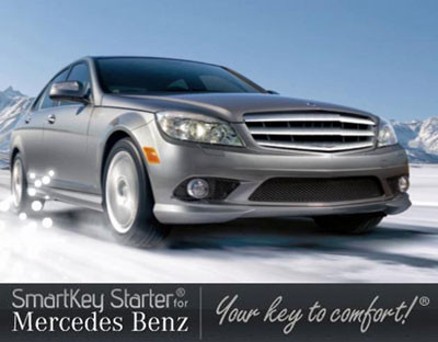 SmartKey Starter for Mercedes-Benz - Custom Radio