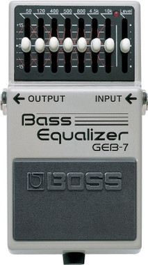 Boss GEB-7 7-Band Bass EQ Pedal (GEB7)