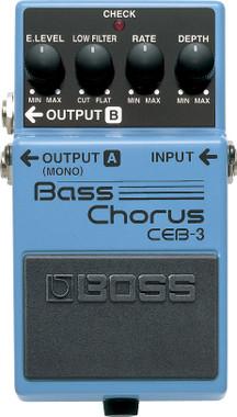 Boss CEB-3 Bass Chorus Pedal (CEB-3)