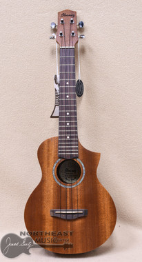 Ibanez UEW5 All Mahogany Concert Ukulele in Open Pore Natural Finish