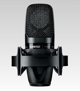 Shure PGA27-LC Side-Address Condenser Microphone with Shock-Mount | Northeast Music Center inc.