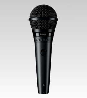 Shure PGA58-XLR Cardioid Dynamic Vocal Microphone with 15' XLR-XLR Cable