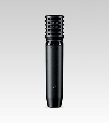 Shure PGA81-XLR Cardioid Dynamic instrument Microphone with 15' XLR-XLR Cable
