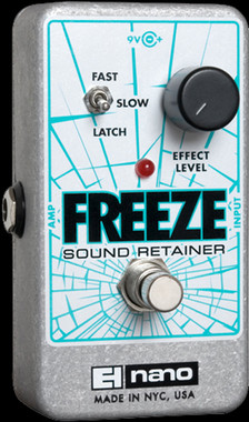 EHX Freeze Sound Retainer | Electro-Harmonix Effects Pedal - Northeast Music Center