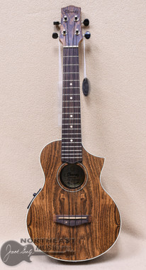 Ibanez UEW13E Bocote Acoustic Electric Concert Ukulele in Open Pore Natural Finish (UEW13E)