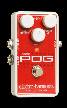 Electro-Harmonix Nano POG Polyphonic Octave Generator Guitar Effects Pedal