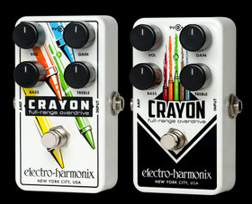 Image of the Electro-Harmonix CRAYON Full Range Overdrive - 76 at Northeast Music Center Inc.