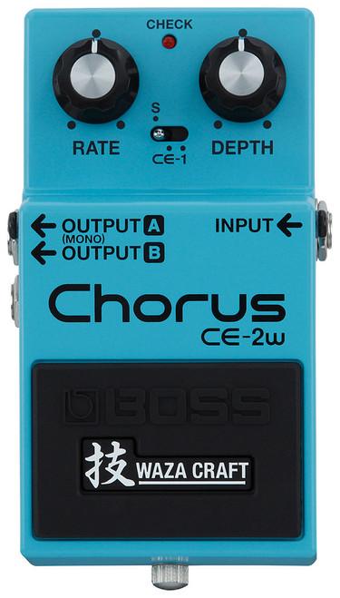 Boss CE-2w Waza Craft Chorus Pedal (CE-2W)