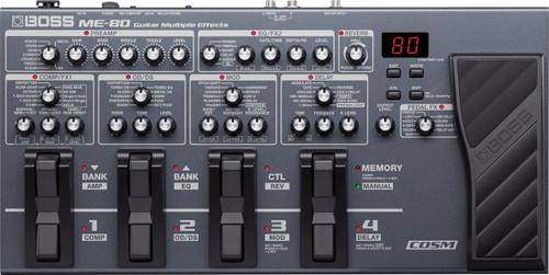 Boss ME-80 Multi Effects Pedal (ME-80)