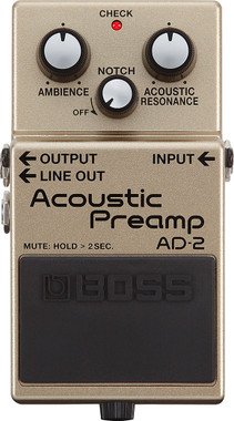 Boss AD-2 Acoustic Preamp Pedal (AD-2)