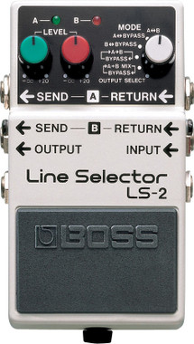 Boss LS-2 Line Selector & Power Supply Pedal | Northeast Music Center inc.