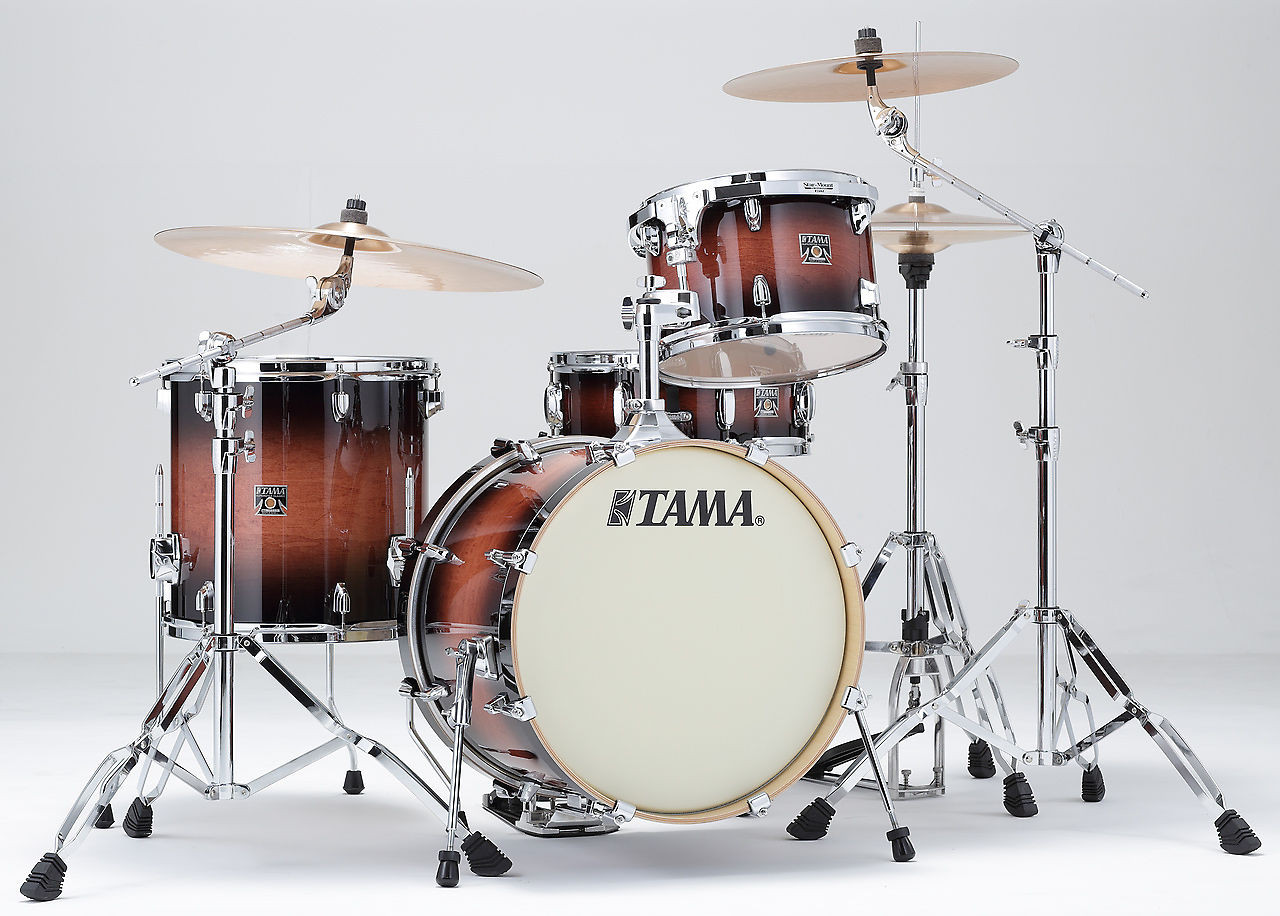 Tama Superstar Classic 4 Pcs Drum Kit in Mahogany Burst