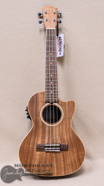 Lanikai Acacia Cutaway Acoustic Electric Tenor Ukulele with padded Gigbag
