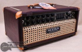 Mesa Boogie Express 5:25+ Head in Wine Taurus with Wicker Grille and Tan Leather Corners (2.25P.117D.V26.G07.P03.H04.C02.XXX)