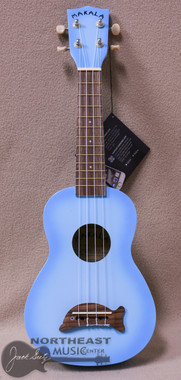 Makala Dolphin Soprano Ukulele in Light Blue Burst (MK-SD/LBLBURST)