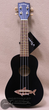Makala Shark Soprano Ukulele in Black
