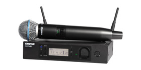 Shure GLX-D24R-B58 Digital Wireless Vocal Microphone System