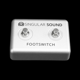 Singular Sound Dual Momentary Footswitch for Beatbuddy