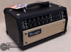 Mesa Boogie Mark V:25 Amplifier Head in Black Taurus with Tan Jute Grille and Black Leather Corners