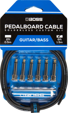 Boss BCK Solderless Pedalboard Cable Kit