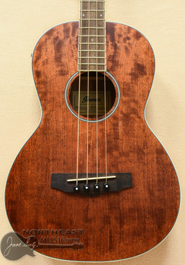 Ibanez PNB14 Parlor Acoustic Electric Bass - Open Pore Natural | Northeast Music Center Inc.