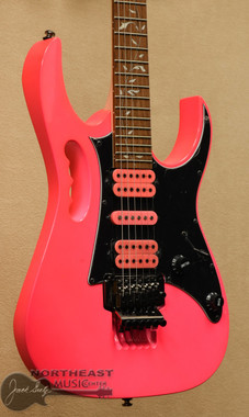 Ibanez JEM JR Steve Vai Signature Guitar - Pink | Northeast Music Center inc.