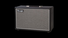 Mesa Boogie 1X12 Fillmore 23 Speaker Cabinet in Black Bronco with Tinsel Grille