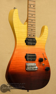 Ibanez AZ242F Premium - Tequilla Sunrise Gradiation | Northeast Music Center inc.