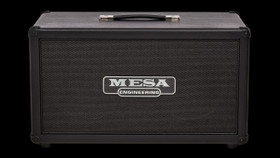 Mesa Boogie 2x12 Recto Horizontal Cabinet with Caster kit Black on Black
