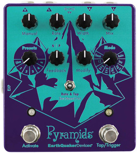 EarthQuaker Devices Pyramids Stereo Flanging Device (PYRAMIDS)