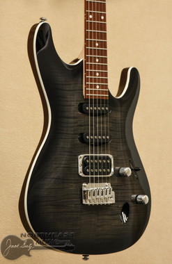 Ibanez SA260 with Flamed maple Top in Transparent Grey Burst | Northeast Music Center Inc.