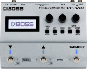 Boss VE-500 Vocal Performer Effects Processor