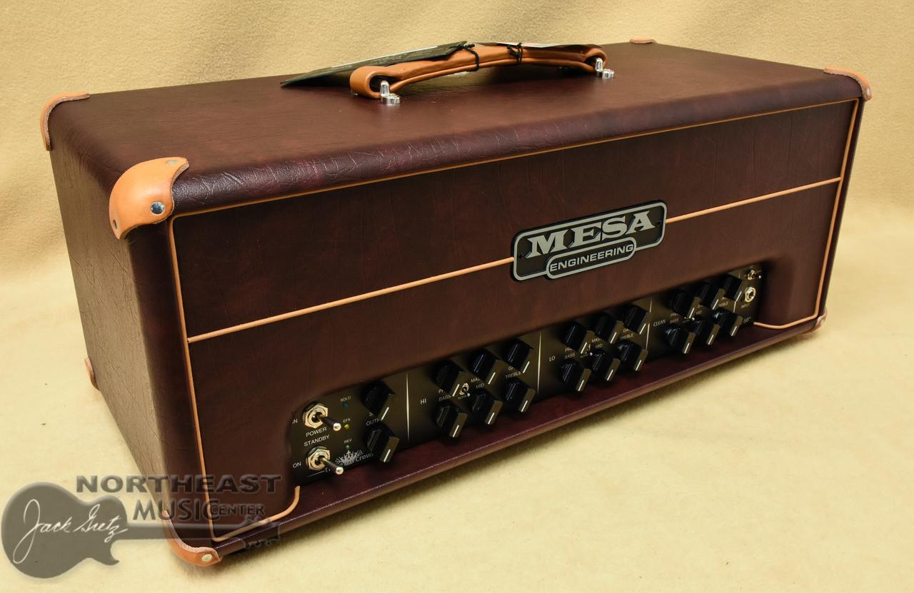Mesa Boogie Triple Crown Tc 50 Watt Amplifier Head Wine Taurus Power 2
