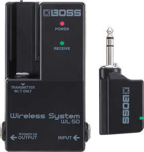 BOSS WL-50 Wireless System For Electric Guitar (WL-50)   Northeast Music Center Inc.