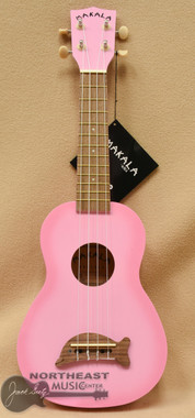 Makala Dolphin Soprano Ukulele - Pink Burst | Northeast Music Center Inc.
