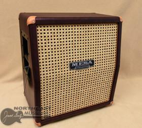 "Mesa/Boogie 1 x 12"" Mini Rectifier Slant Cabinet (1x12 Slant) - Wine Taurus w/ Wicker Cabinet   Northeast Music Center Inc."
