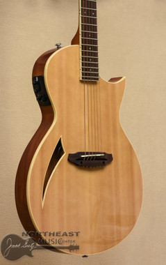 LTD TL6 Thinline Acoustic Guitar - Natural | ESP LTD Thinline Acoustic Electric Guitars - Northeast Music Center inc.