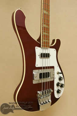 1982 Rickenbacker 4001 Bass - Burgundyglo (Used) | Northeast Music Center Inc.