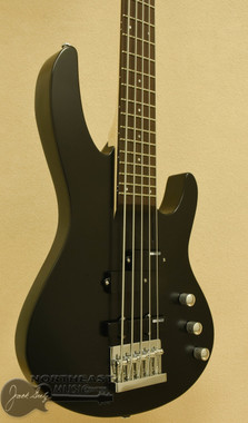 ESP/LTD B-15 5 String Bass - Black Satin | ESP LTD Electric Bass Guitar - Northeast Music Center Inc.