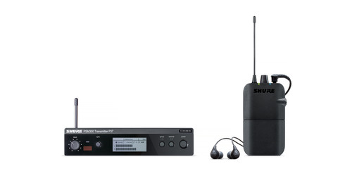 Shure PSM 300 Personal In-Ear Monitor System w/ SE-112GR Ear-Buds | Northeast Music Center Inc.