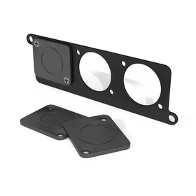 Temple Audio Mini Module Punched Plate | Temple Pedal Board - Northeast Music Center inc.