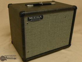 Mesa Boogie 1x12 Thiele Cabinet - Gray Taurus, Cream/Black Grille | Northeast Music Center Inc.