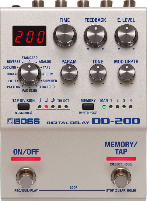 Boss DD-200 Digital Delay | Guitar and Bass Effects Pedals - Northeast Music Center Inc.