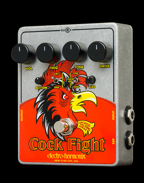 EHX Cock Fight Cocked Talking Wah | Electro-Harmonix Effects Pedals - Northeast Music Center