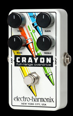 EHX Crayon Full Range Overdrive 76 - Black Electro-Harmonix Guitar Effects Pedals | Northeast Music Center